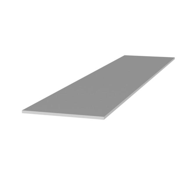 ALUMINUM FLAT BAR 60x2 ANODISED